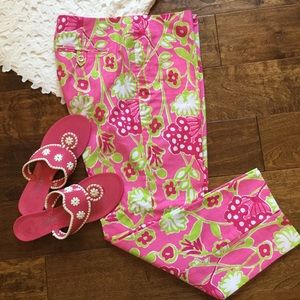 Lilly Pulitzer Originals Resort Fit Pink Floral